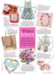 Prima Magazine March Betty Apron Ragged Rose