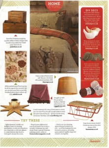 Homemaker features Belinda Mulberry Throw