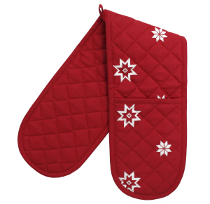 Ragged Rose : Bertha Christmas Double Oven Glove