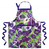 Billy PVC Garden Apron Purple