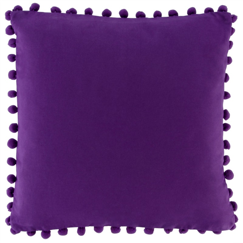 purple scatter cushion