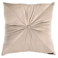 Ragged Rose : Fiona Velvet Cushion Taupe