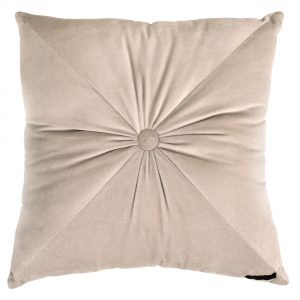 Velvet Cushion Taupe