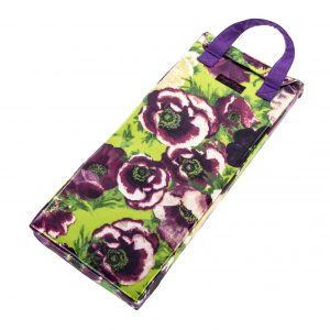 Nelly PVC Garden Kneeler Purple Anemones