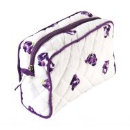 Purple Make up Bag