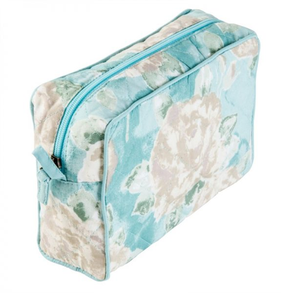 duckegg blue makeup bag