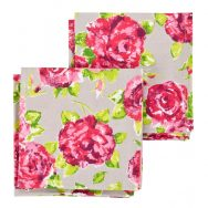 Ragged Rose Natalie Taupe Napkins