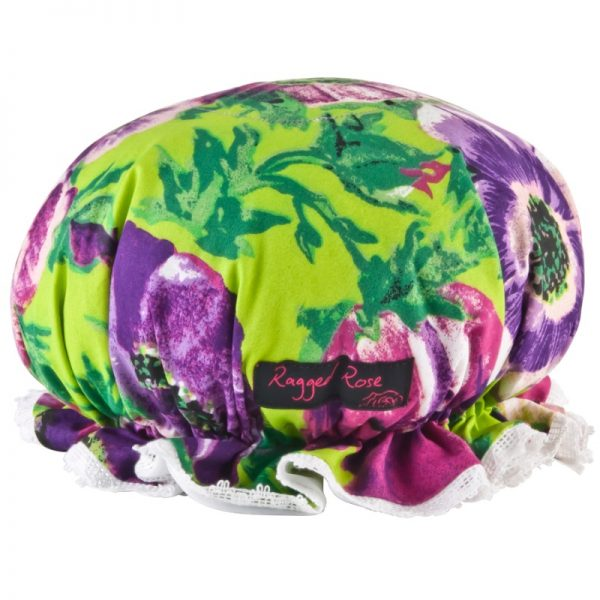 shower hat purple anemones