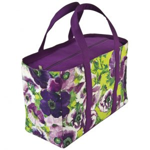 tasha tote bag purple