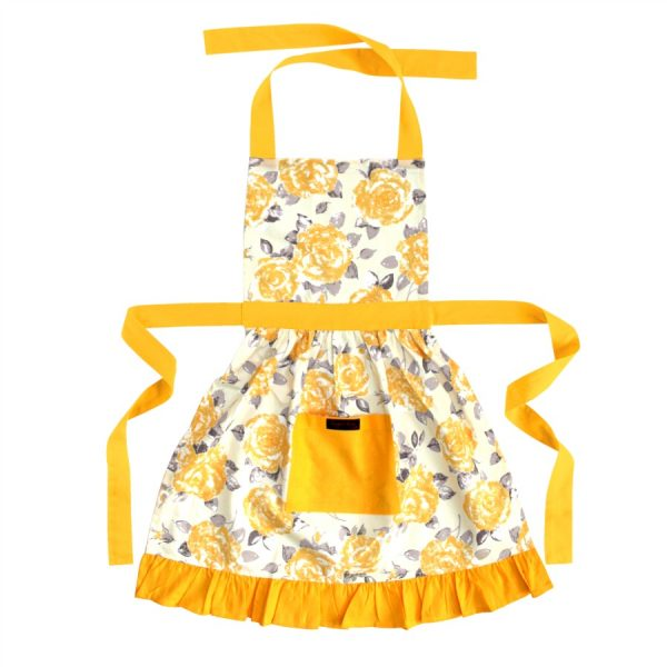 frilly apron
