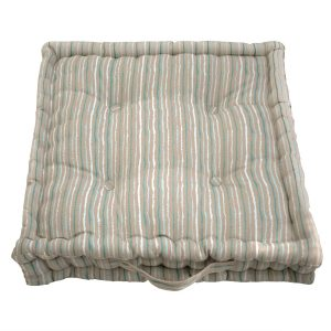 stripe garden cushion