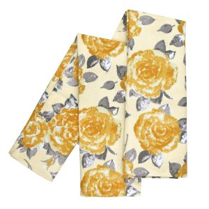 Tea Towels Golden Rose