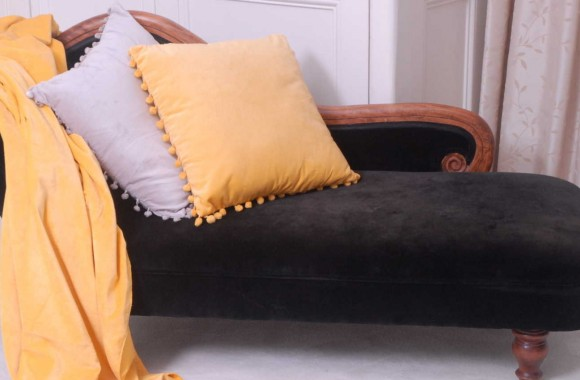belinda and arabella velvet cushion and throw ragged rose