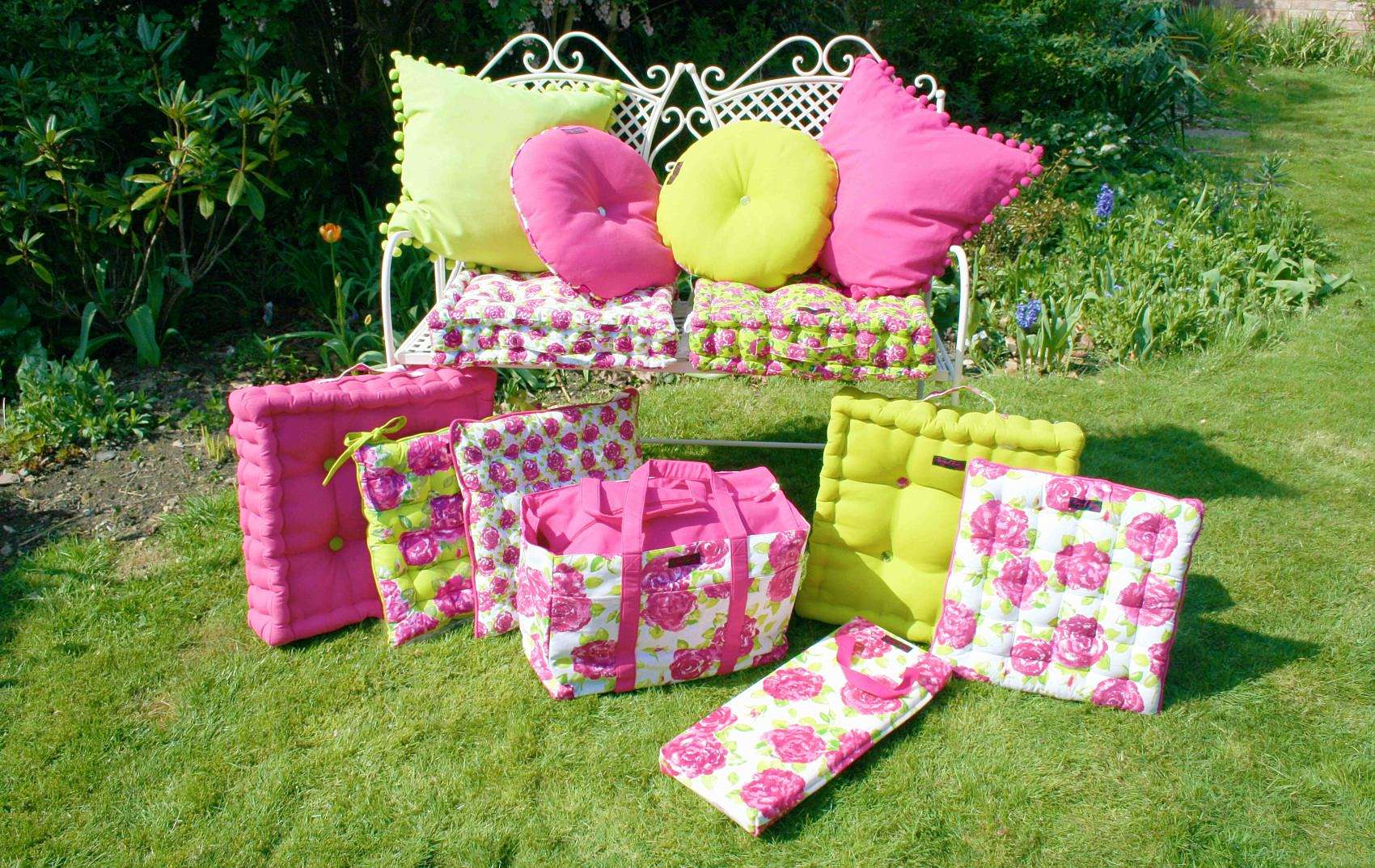 Green Garden Box Cushion