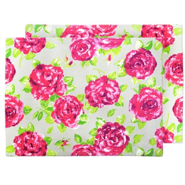Taupe Rose Placemats