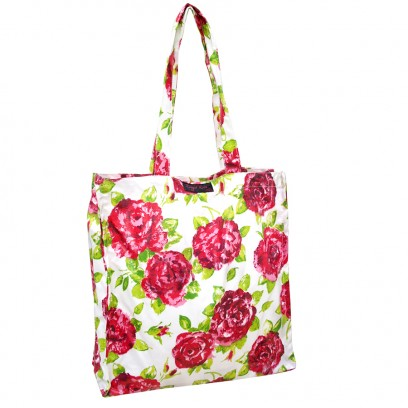 white PVC Shopper Bag