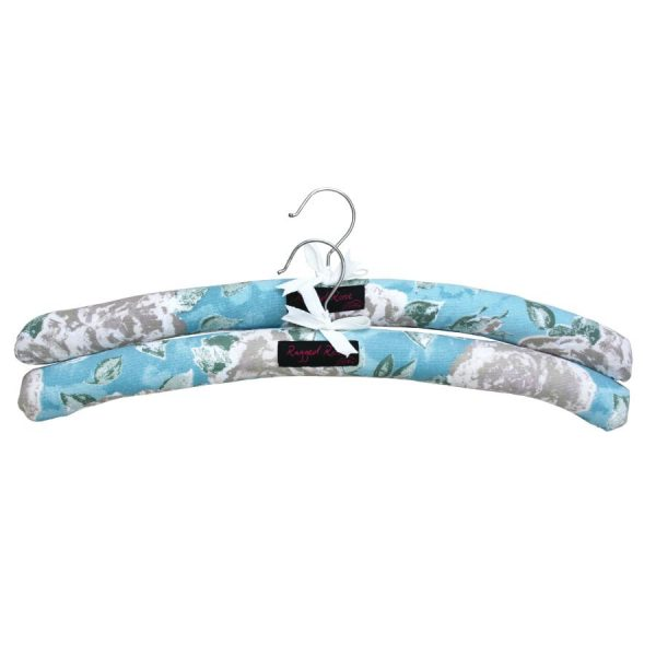 floral padded hangers
