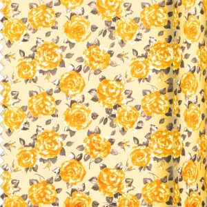 Gold Rose Fabric