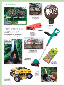 Wealden Times April 2016 Lime Garden Kneeler Ragged Rose