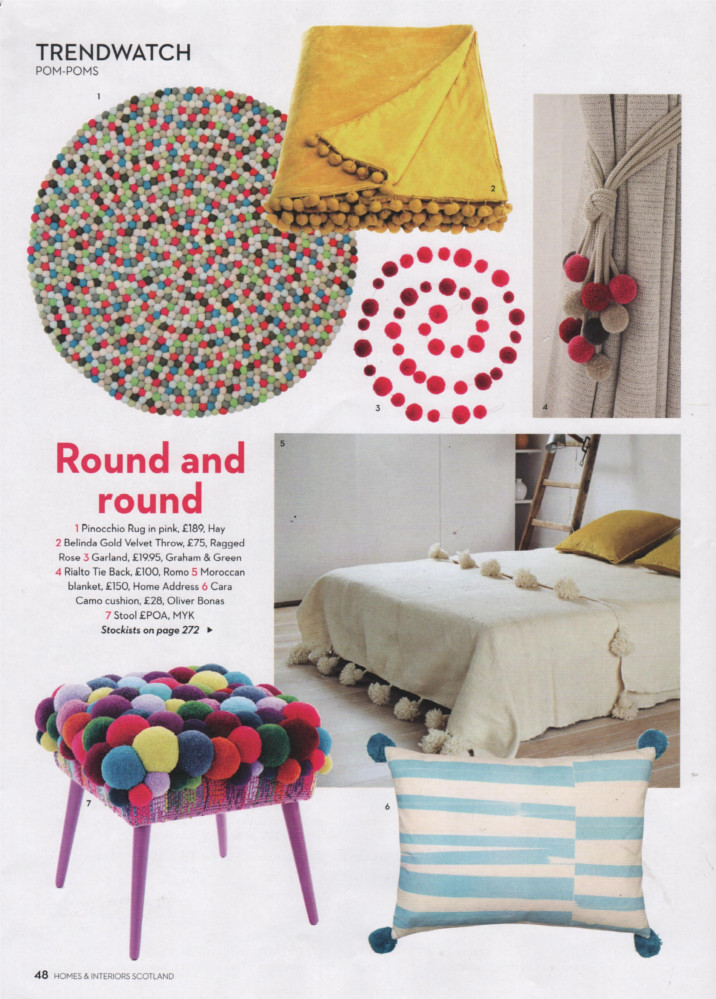 As Seen In Homes Interiors Scotland Ragged Rose