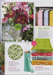 Modern Gardens June 2016 Garden Cushions Ragged Rose
