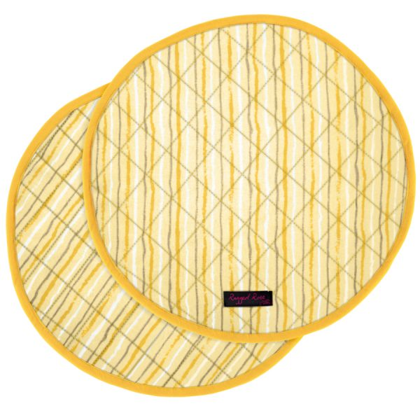 AGA Range Cooker Mats Gold Stripe