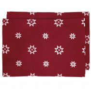 Red Christmas Star Placemats