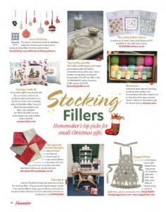 homemaker october 2016 christmas grey apron ragged rose