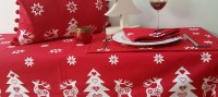 christmas dinning table ragged rose