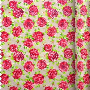 taupe rose fabric ragged rose
