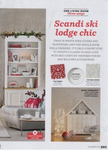ideal home december 2016 christmas cushion ragged rose