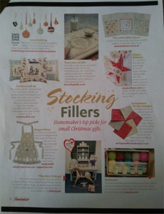 homemaker december 2016 christmas apron ragged rose
