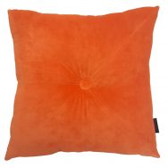 Velvet Cushion Orange