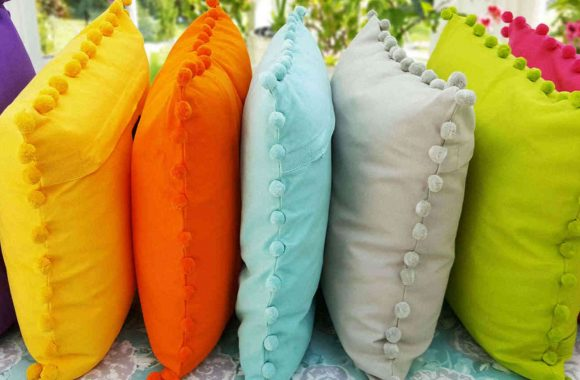 Bobby colours cushions ragged rose