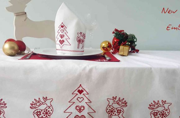 new christmas embroidered collection