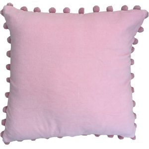 soft pink cushion