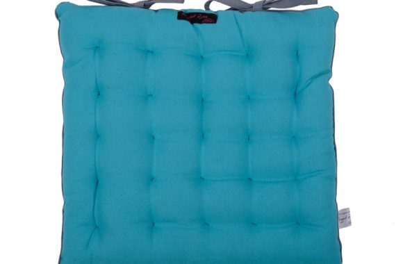 Paddy Teal Garden Seat Pad