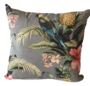 Tropical birds Showerproof Garden Cushion