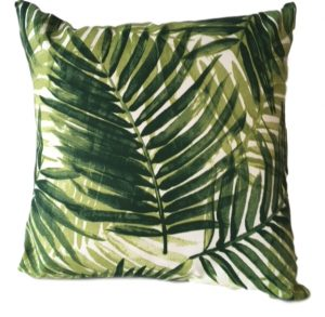 Fern Showerproof Garden Cushion