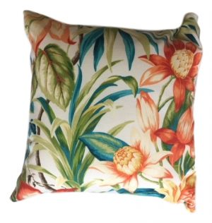 Tiger Lily Showerproof Garden Cushion