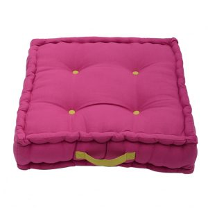 Magenta Pink Garden Box Cushion