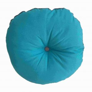 Rolly Circular Seat Pad Teal Cushion