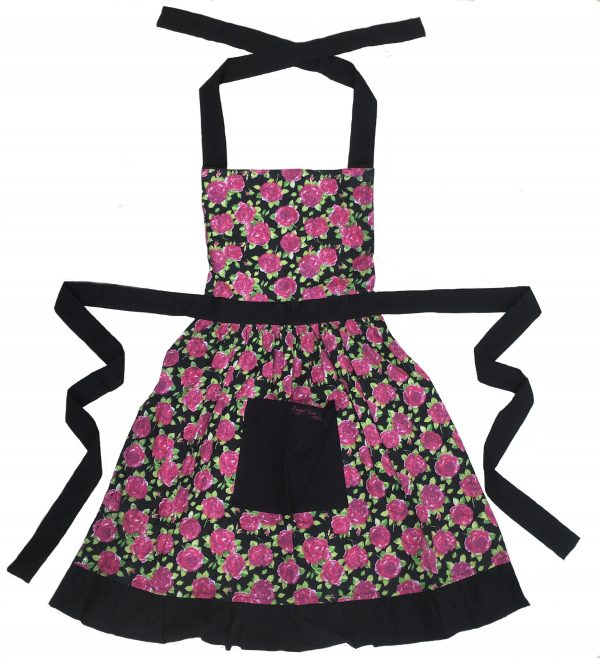 betty black filly apron