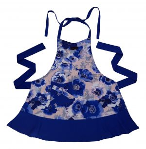 April Apron Blue Anemones by Ragged Rose