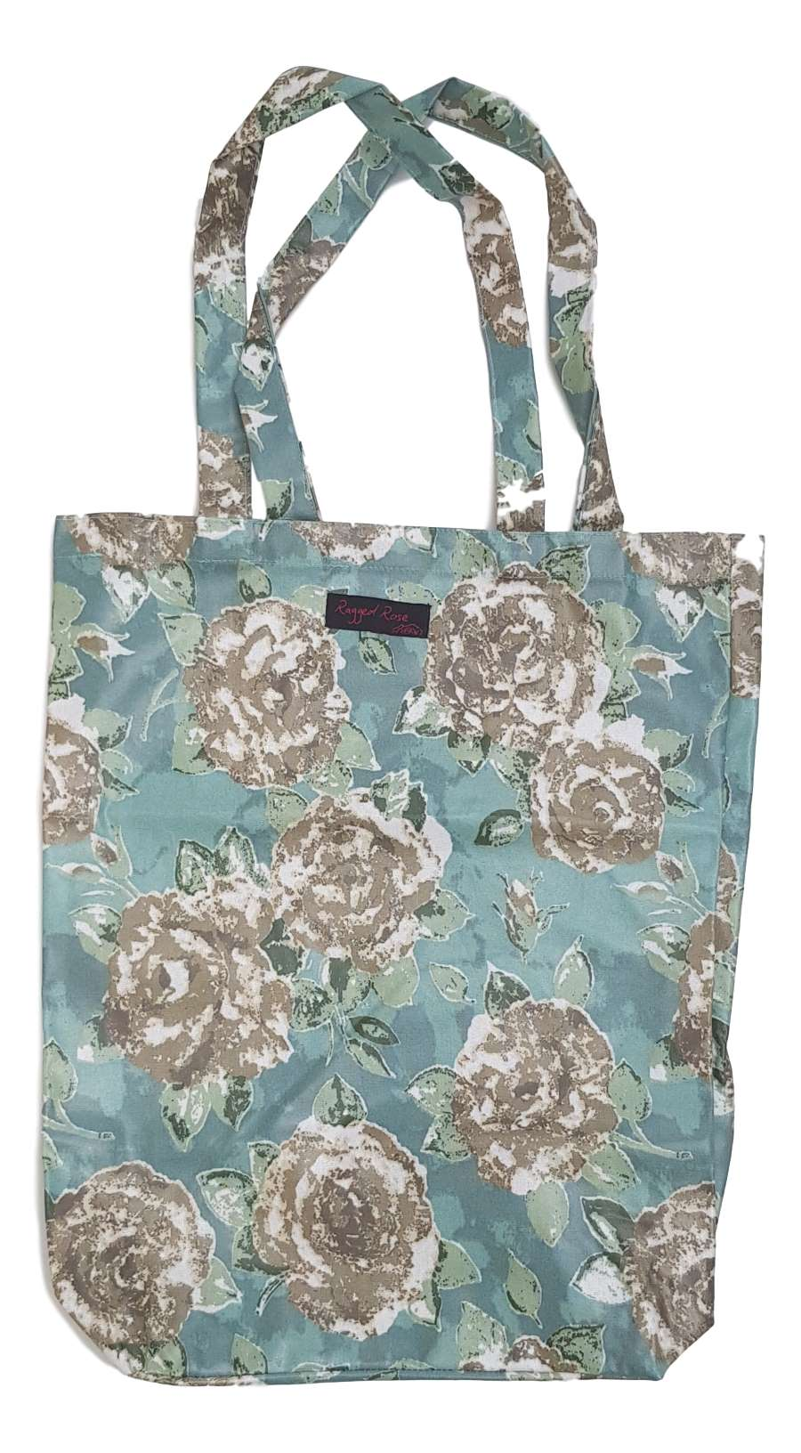 Duck Egg Blue Shopper Bag